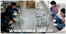 china casting export
