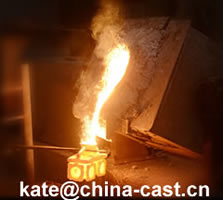 China investment casting foundry